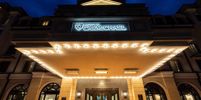 The Hotel Carmichael in Carmel City Center.